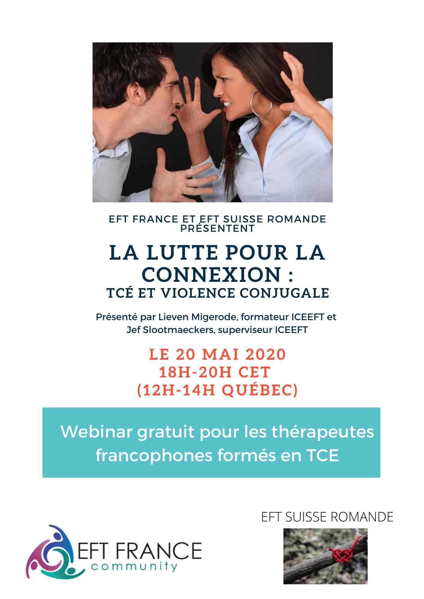 Webinar gratuit pour les thérapeutes TCE